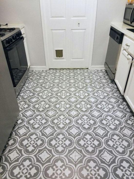 how to paint linoleum floors POQQJMA