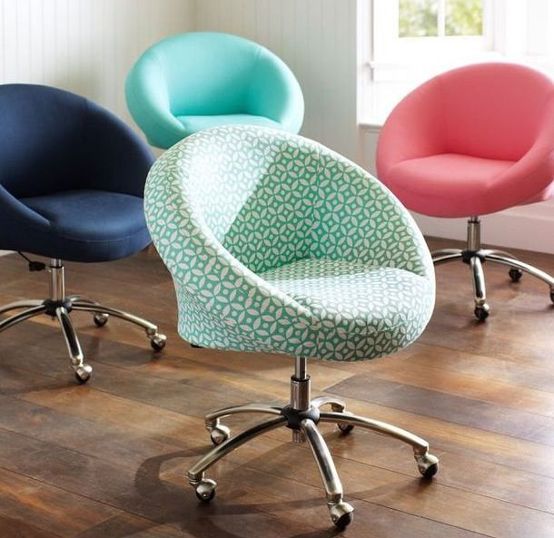 I love those squishy desk chairs !!  probably a hundred dollars .... from pbteen FLBOVKC