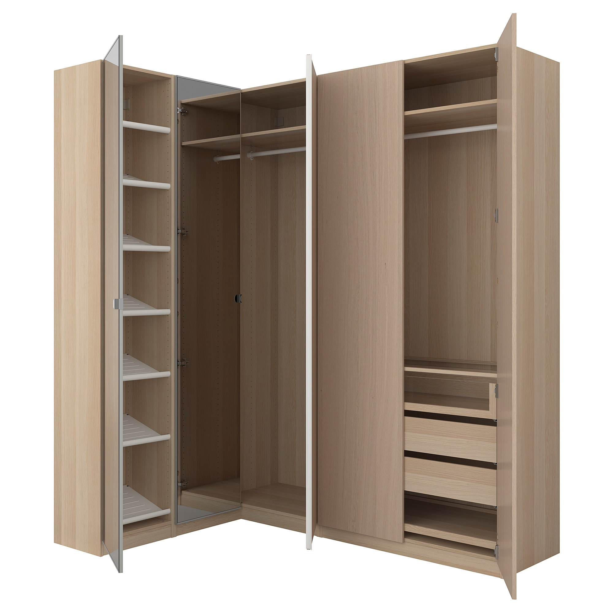 ikea pax corner wardrobe 10 year guarantee.  Read more about the conditions in REDNHFR