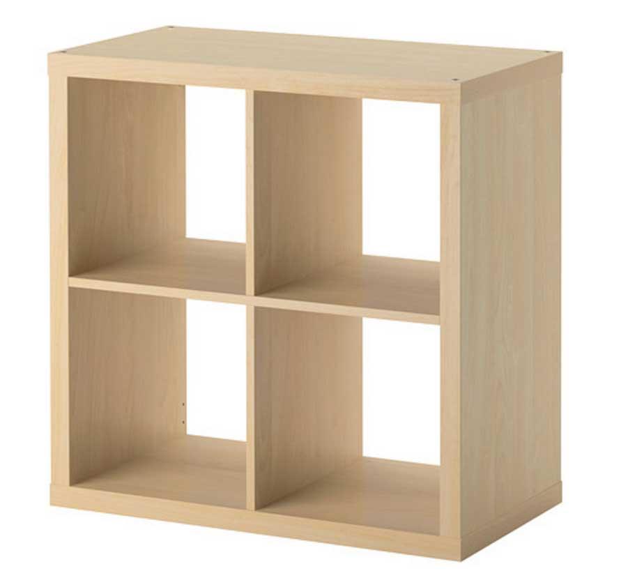 ikea small bookshelf in birch look perfect for VWTJAEP