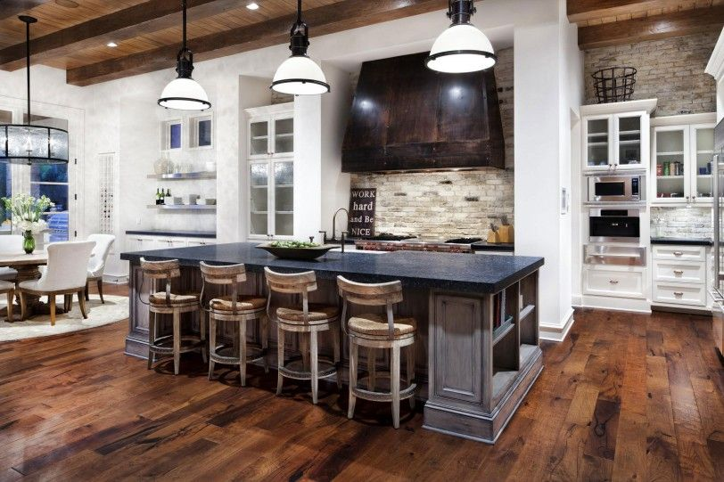 Picture from: Modern country kitchen DMBBCWC