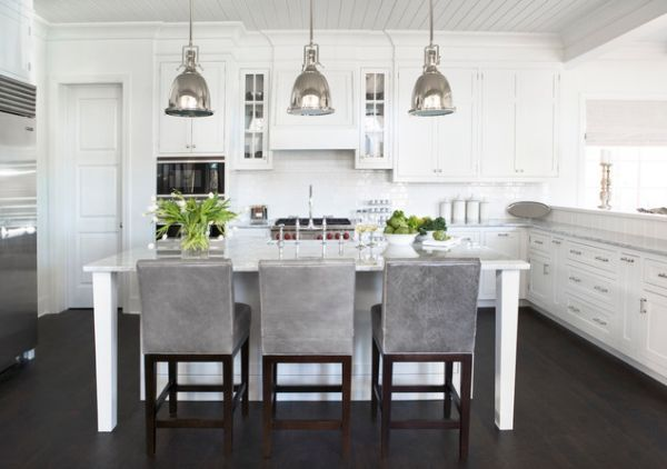 10 lighting ideas for industrial kitchen islands for an eye-catcher