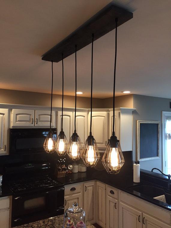 Industrial Kitchen Lighting Ideas