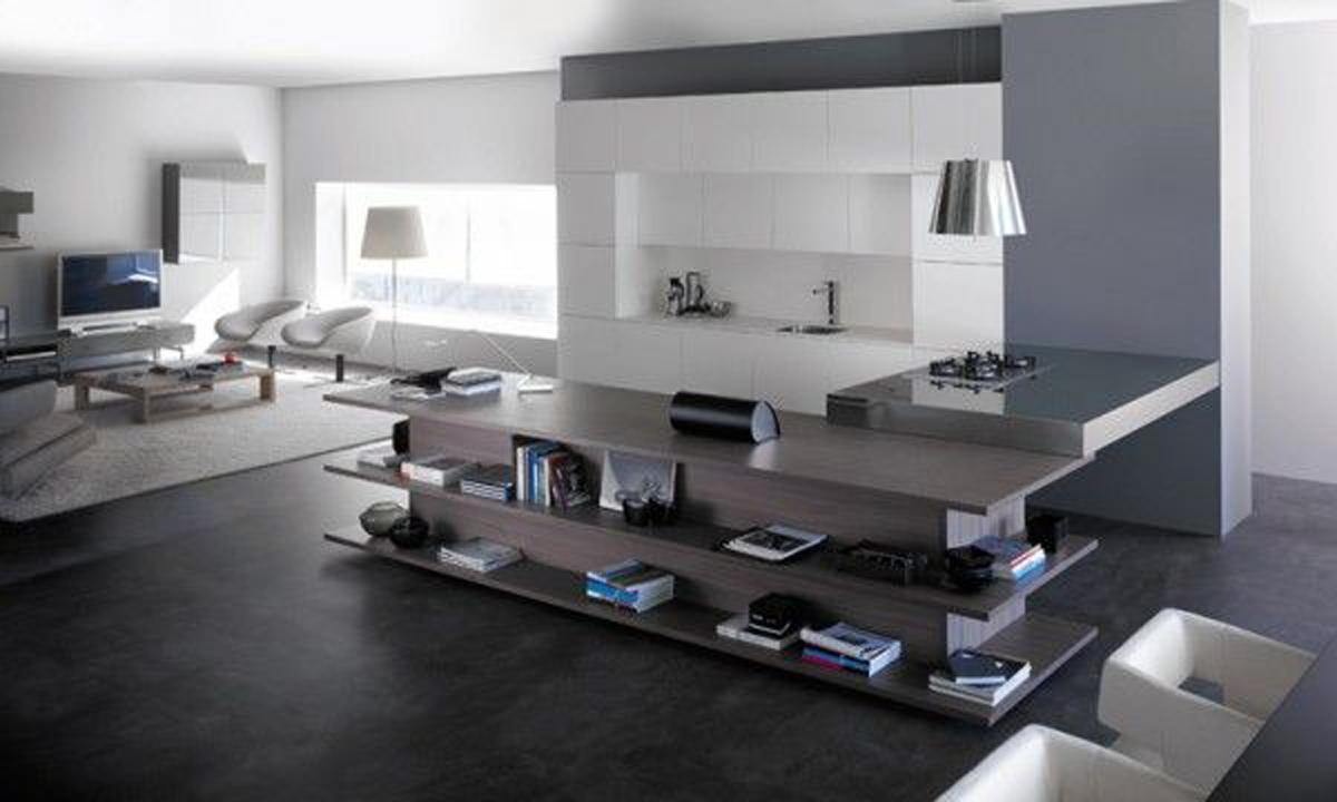 Innovative living room design cool integrated living room kitchen interior LHGJPFV