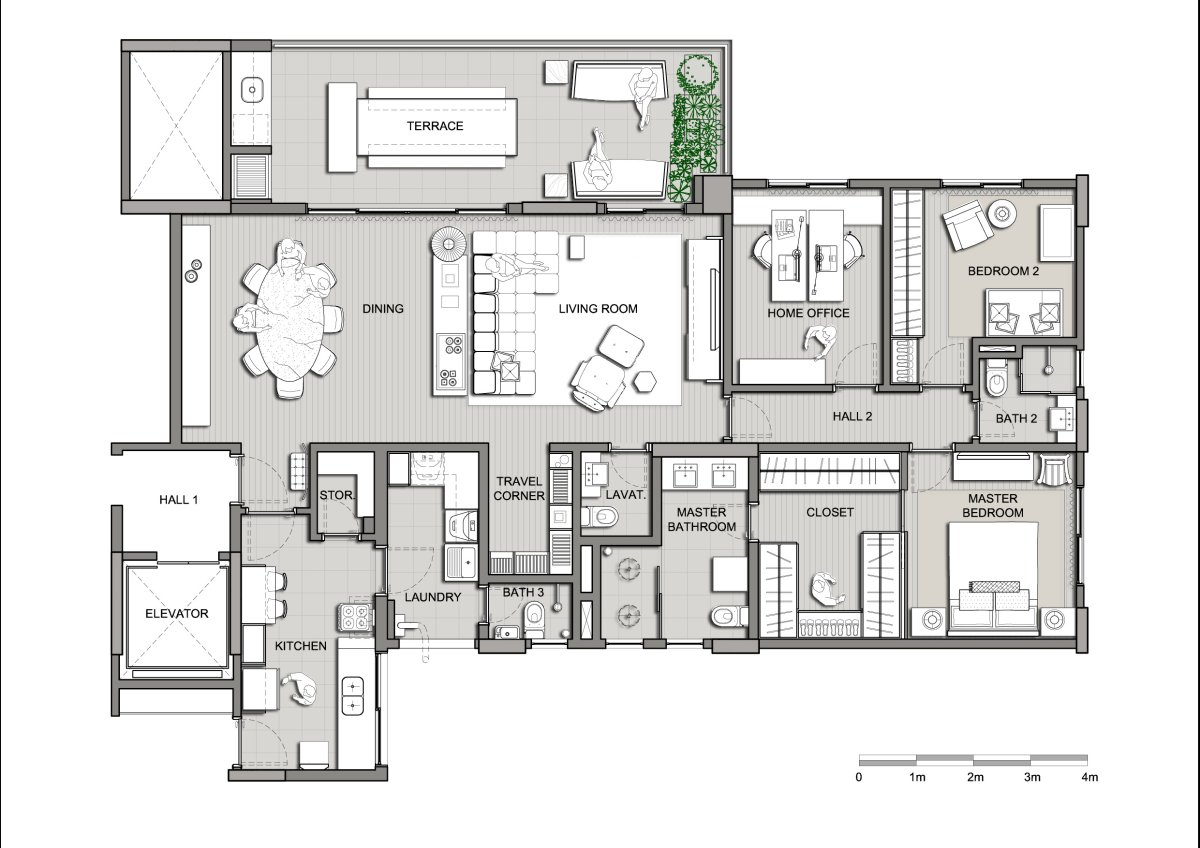 Interior design plan House design Photos with floor plan and plans come interior cool open AIZPCTL