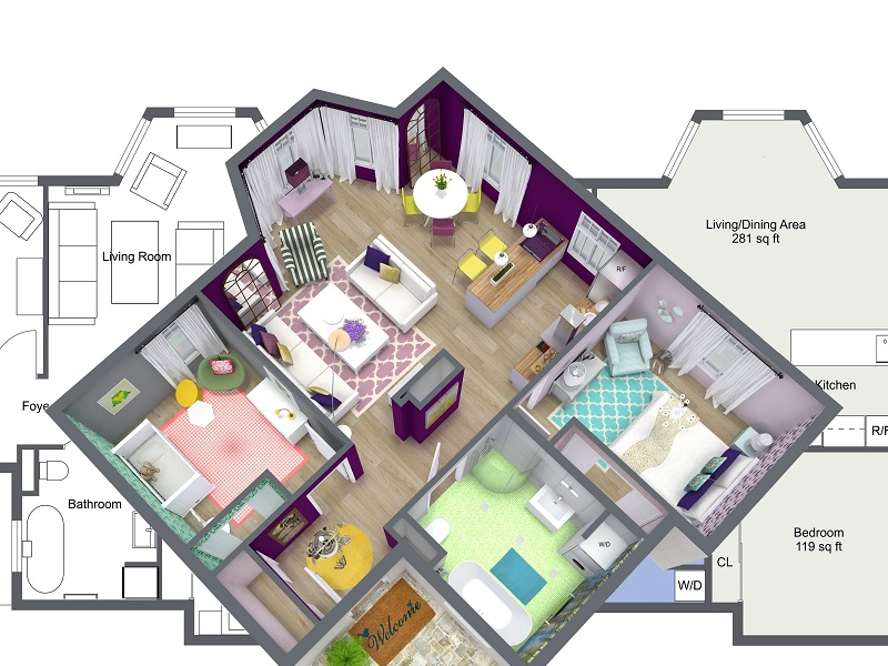 Interior design plan Interior design floor plans RLMCUZC