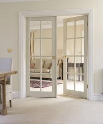 Interior doors Interior doors made of soft wood GQDNZYX