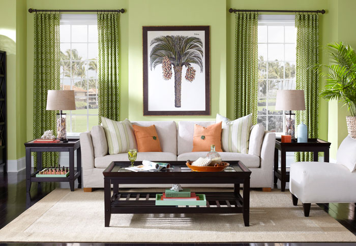Interior painting ideas and schemes from the EYTRTBU color wheel