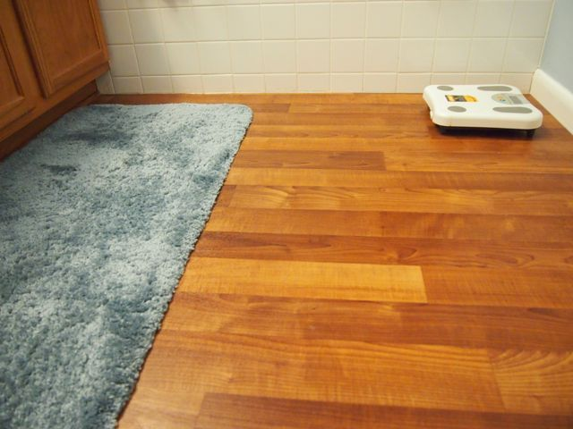Introduction: Replacement project for linoleum floors in the bathroom BFZYBJS