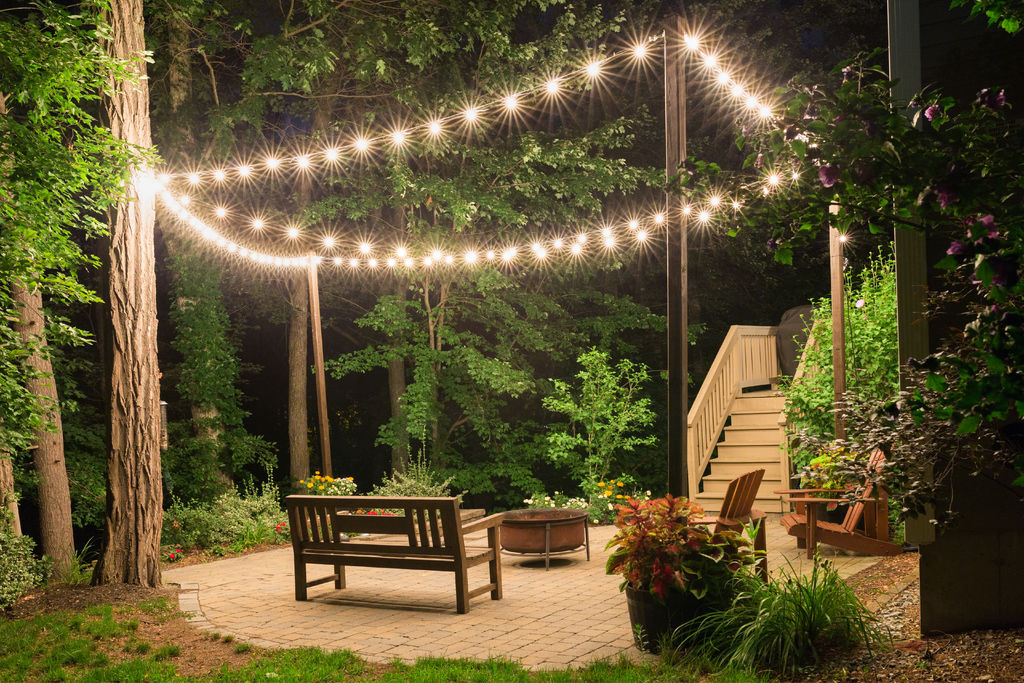 Introduction: patio lighting with CHYTDZE planters