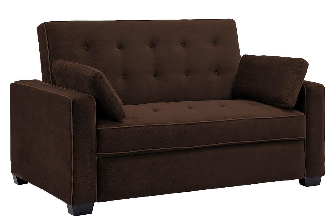jacksonville_modern_convertible_futon_sofa_bed_sleeper_chocolate brown sofa bed futon couch WQJHEEM