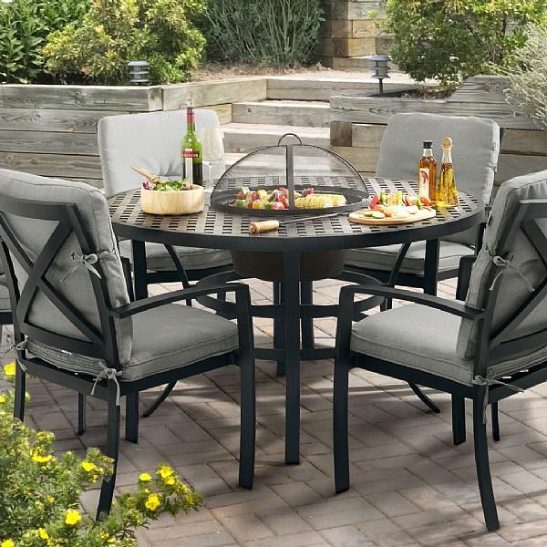 jamie oliver garden furniture hartman jamie oliver modern grill set (4 seater) |  Cast aluminum garden APKYESL