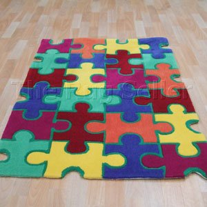 Puzzle colorful children's carpets NXIMDUD