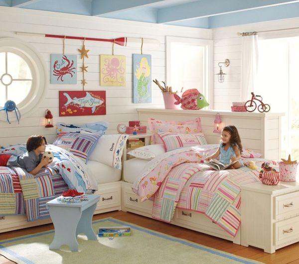 Children's room 15 bedroom furnishing ideas for two children ULKPTSC