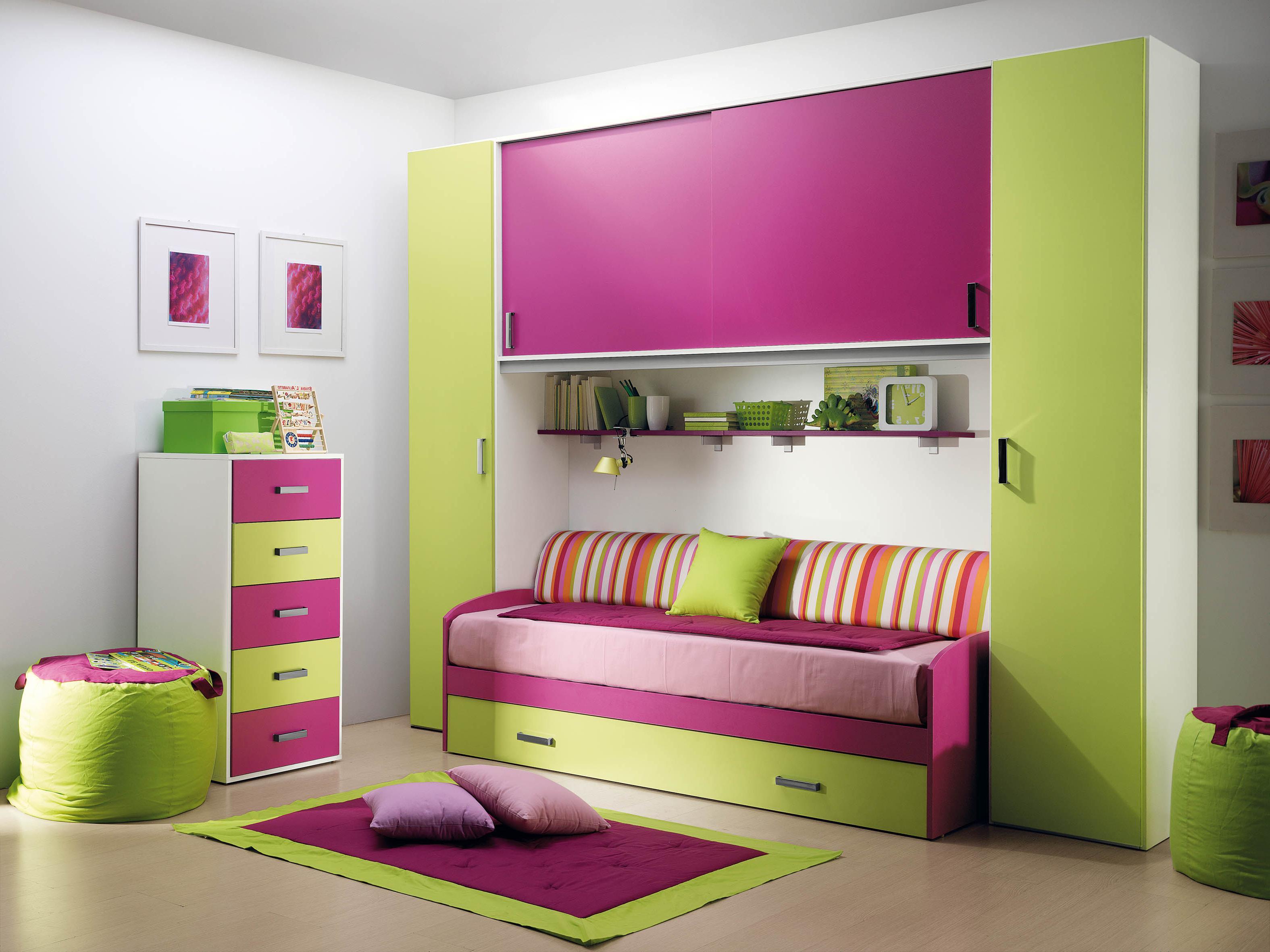 Children's room furniture with desk Desk Children's room furniture Children's bed VYADJPN