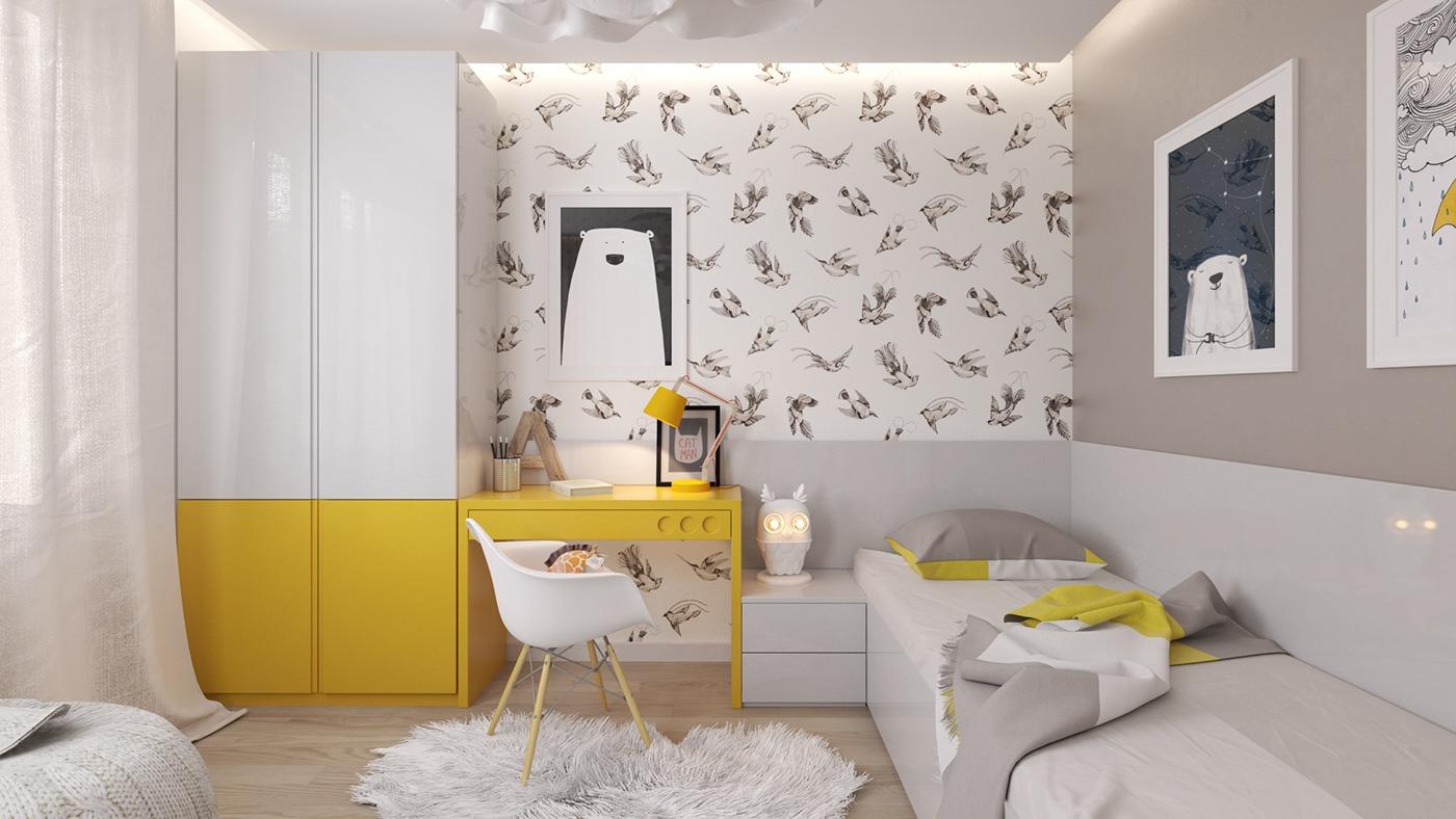 Nursery.  Children's room 1 MITBJQC
