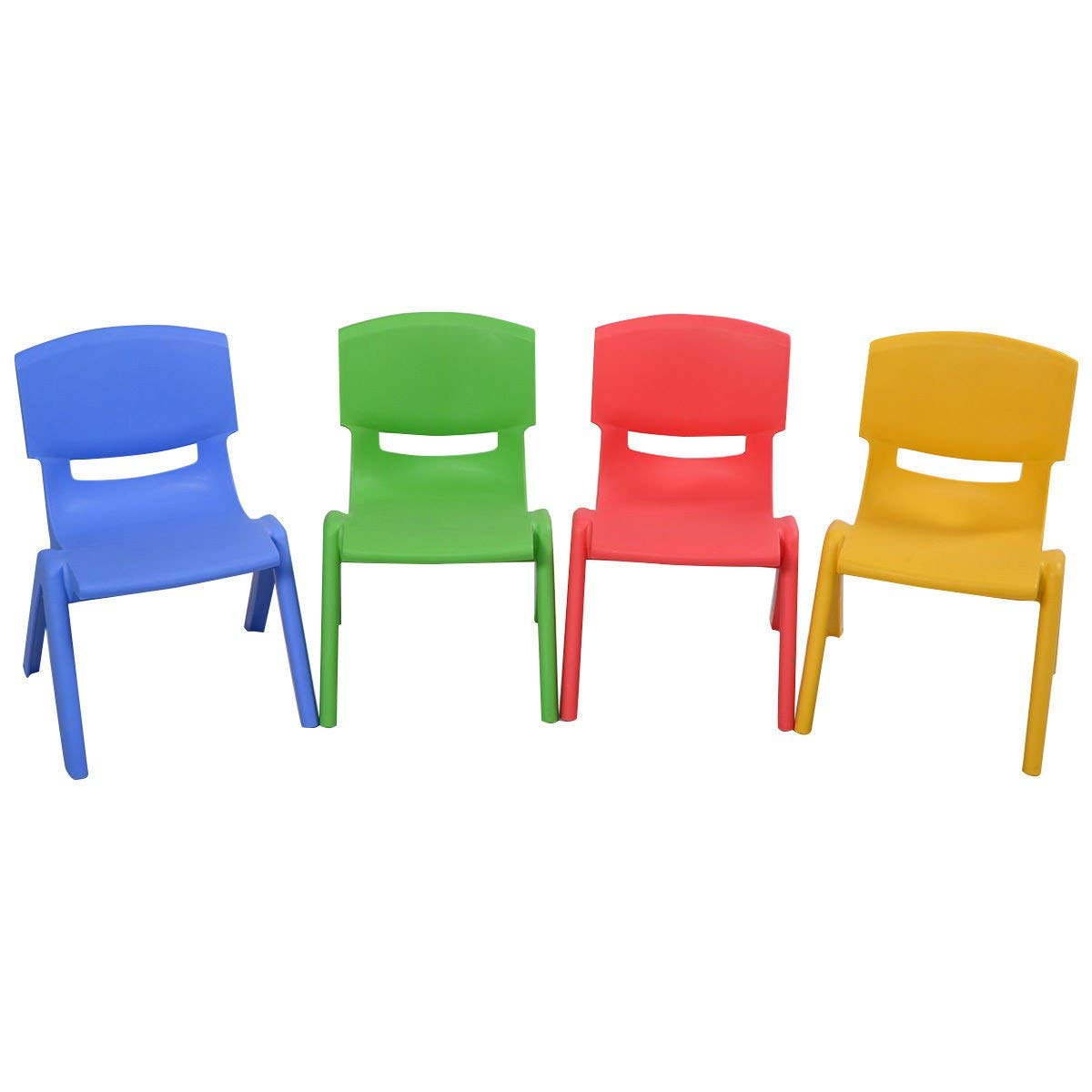 Children's chairs amazon.com: Costzon Kids plastic table, chair, learning and play set, DCDZQKM