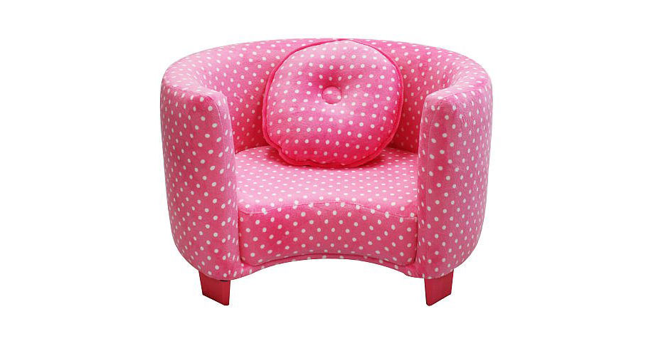 Children's chairs newco comfortable spotted children's chair ... HHDCSYR