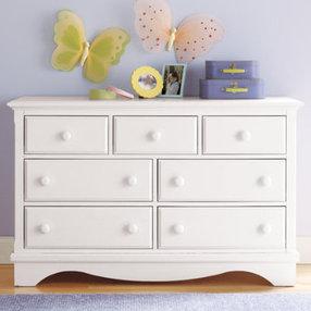 Children's chest of drawers: children's chest of drawers 7 drawers white walden - white 7 drawers walden FXOMCJB