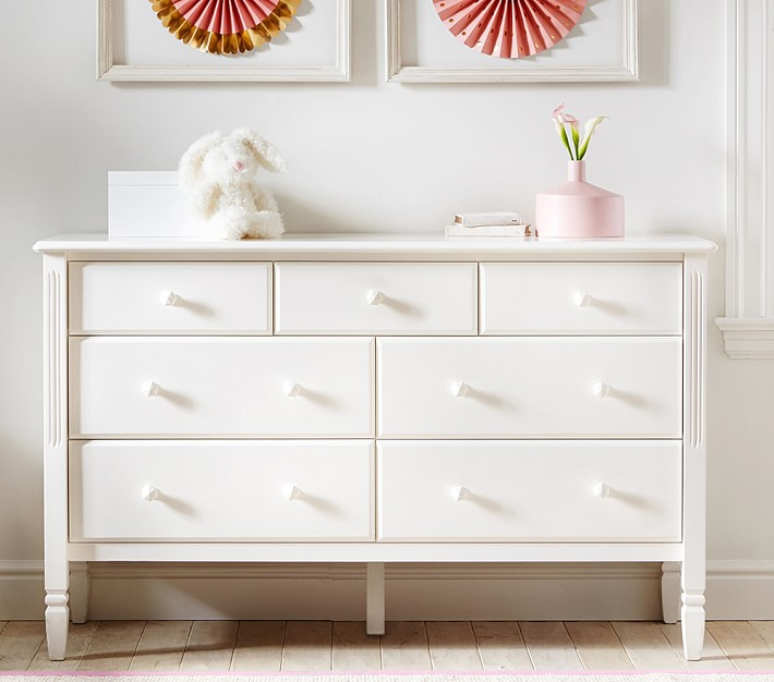 Children's chest of drawers Madeline Extra-wide chest of drawers |  Pottery barn children TOJJGZD