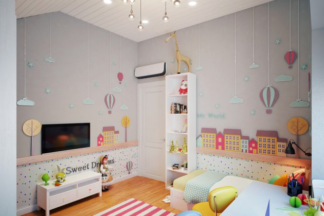 Children's room design 18 convincing Scandinavian children's room designs that children cannot resist EFIQUKN