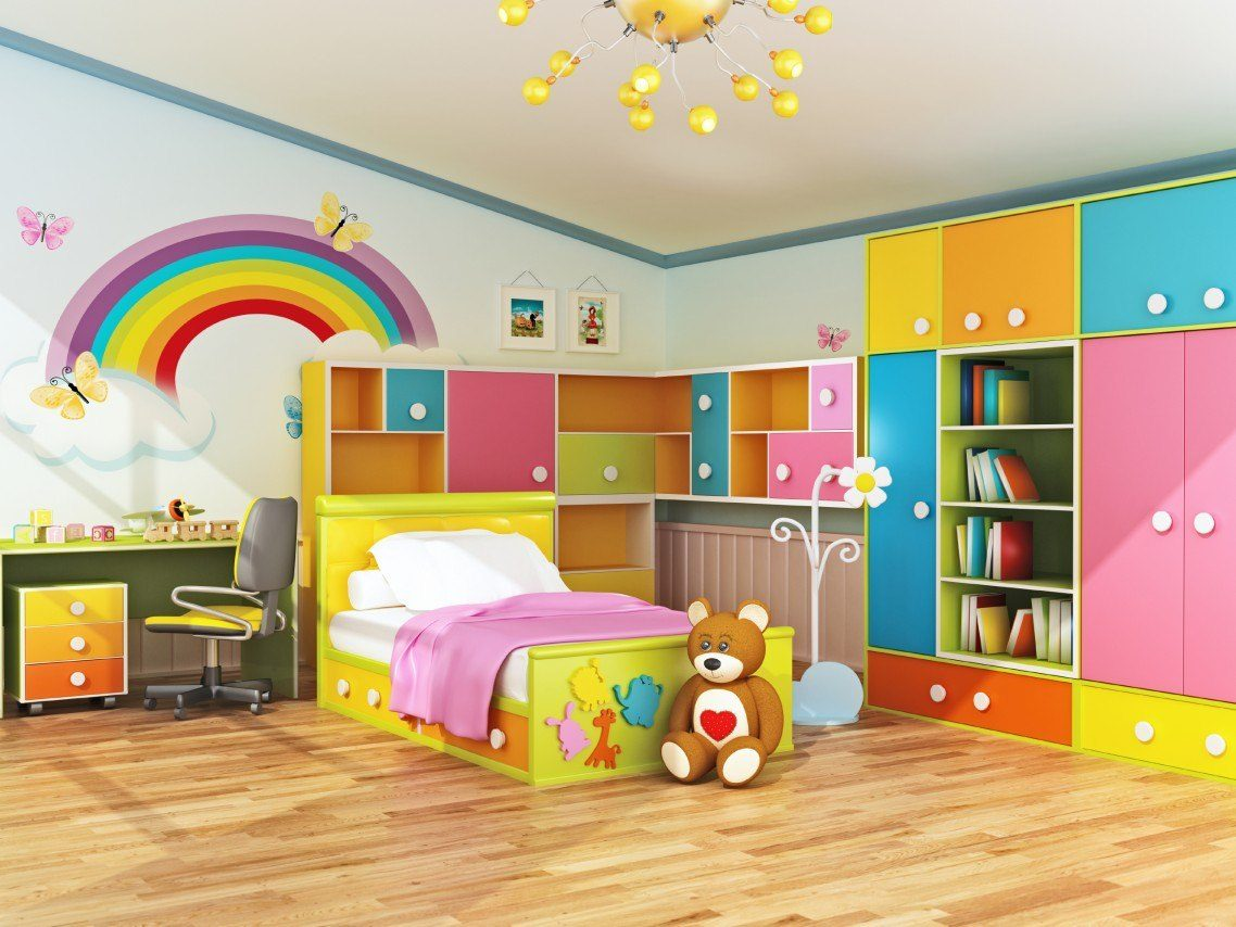 Children's room design When designing children's rooms, you do not need the luxurious things that you CZGALBR