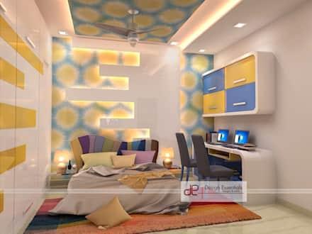 Children's room design residence in Rohini, New Delhi: modern children's room / kidu0027s room by Design Essentials IIJKSML