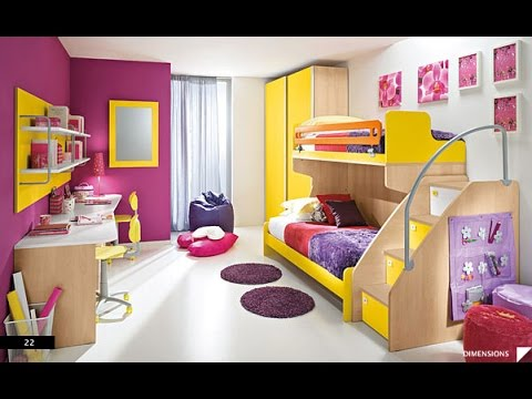 Nursery Designs |  20 exclusive ideas for designing children's rooms - for girls and POKXXWL