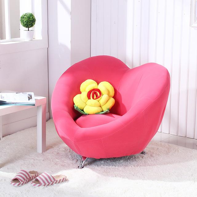 Children's sofa solo high quality love form lazy sofa children's chair exquisite couch landscape computer XPQDNMT