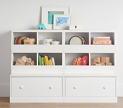 Storage furniture for children cameron 2 market containers cubby & 2 drawer substructure