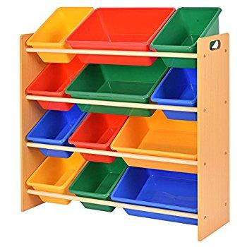 Kids Storage Giantex Toy Storage Organizer Kids Kids Storage Box Playroom Bedroom Shelf OVKVGNY