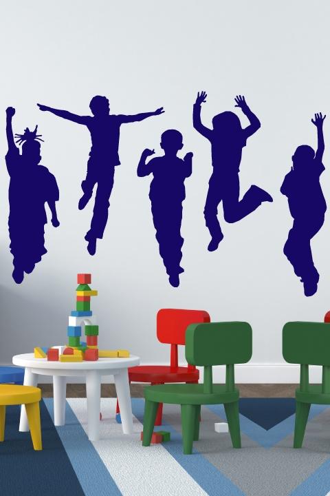 Children's wall decals Alternative views: QESBGHK