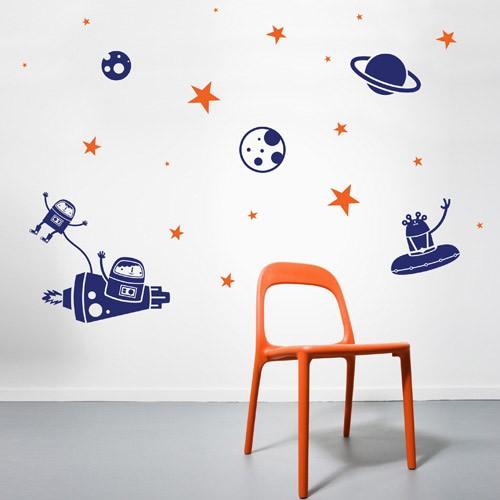 Children's wall decal Astro Children's wall decal ZYHTUWR