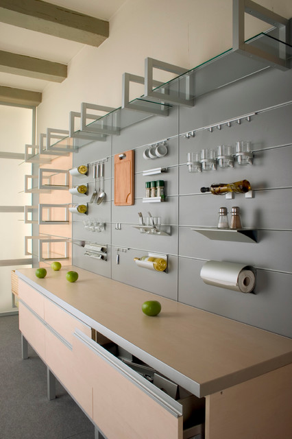 kitchen accessories aluminum wall system with accessories modern kitchen BUSSWXN