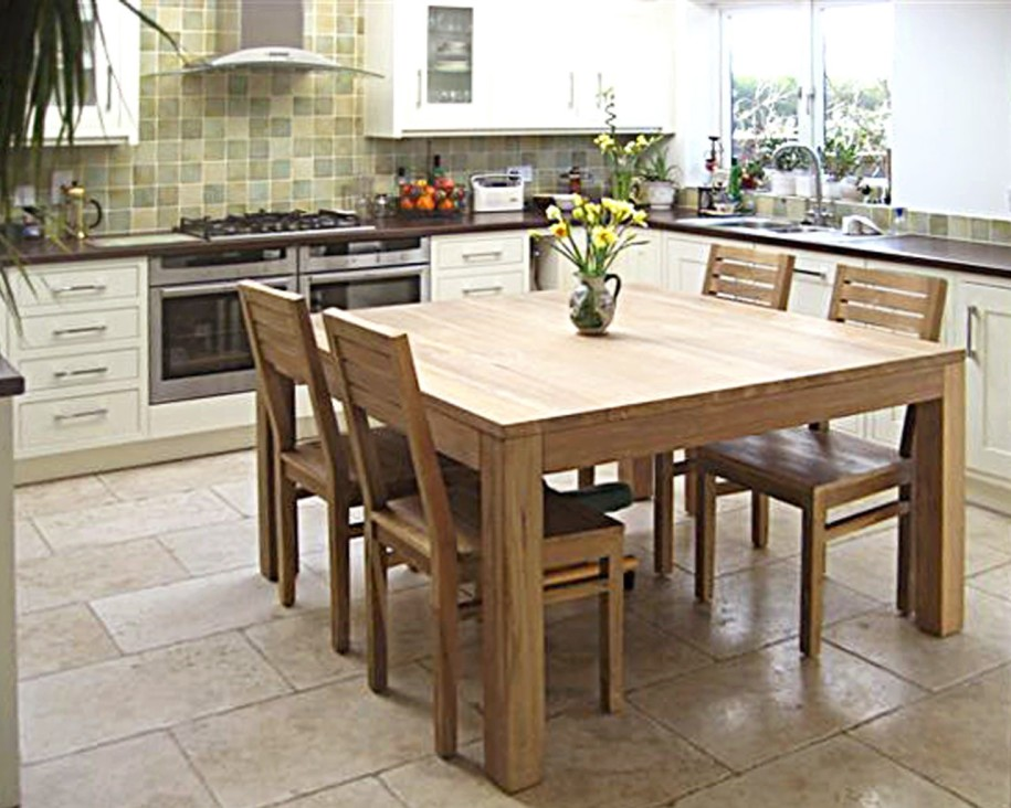 Kitchen and dining room tables classic square dining table with leaf LDQQVMG