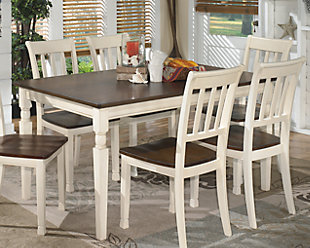 Kitchen and dining tables ... large Whitesburg dining table,, Rollover UPFEVJE