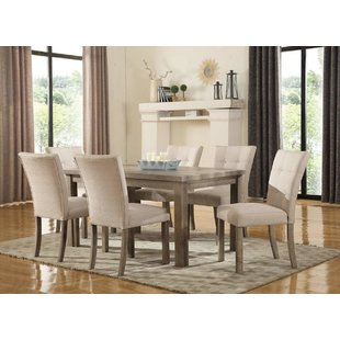 Kitchen and dining room tables urban 7-piece dining room set CNFYOBPYO