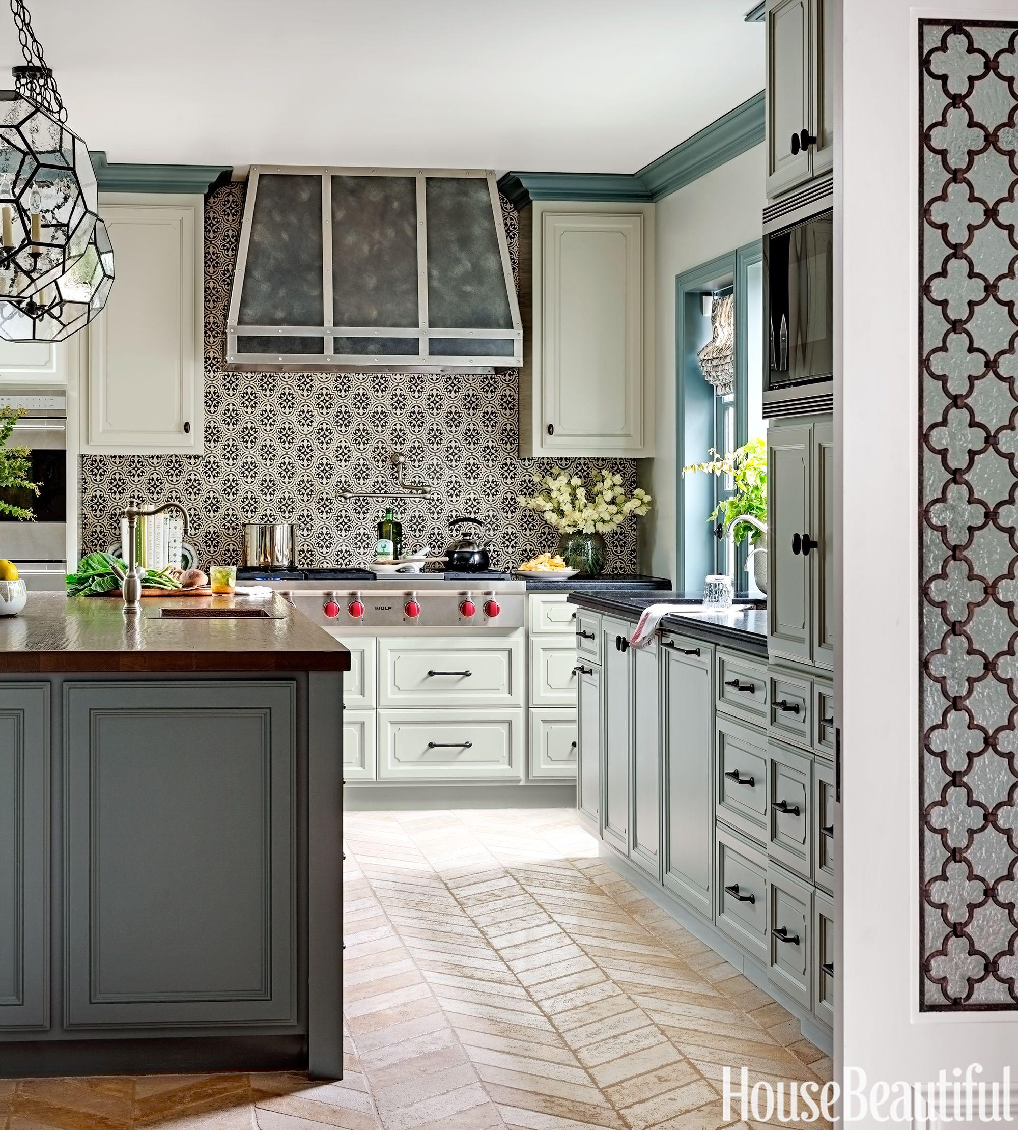 Kitchen back wall tile best kitchen back wall ideas - tile designs for kitchen back walls LVIEHVW