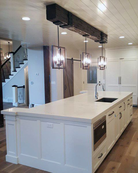 Top 60 Best Wood Ceiling Ideas - Wood Interior Design    Kitchen.