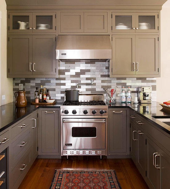 Kitchen decorating ideas kitchen with decorative tile QWYNVOY