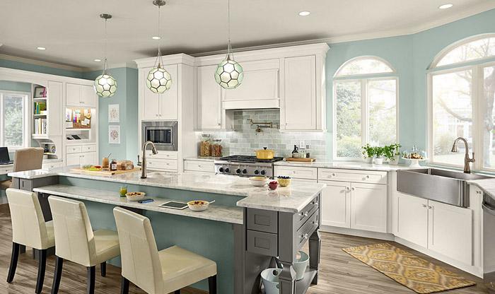 Kitchen design Kraftmaid kitchen GVFMIRX