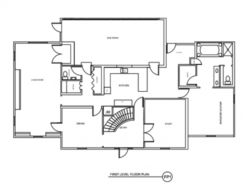 Kitchen floor plans as you can see in the previous version of the floor plan, CWDAJJV