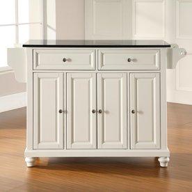 Kitchen furniture Crosley furniture white craftsman kitchen island IIJNFOZ