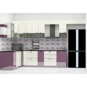 Kitchen furniture spindle l - kitchen with laminate finish BQJXSJP