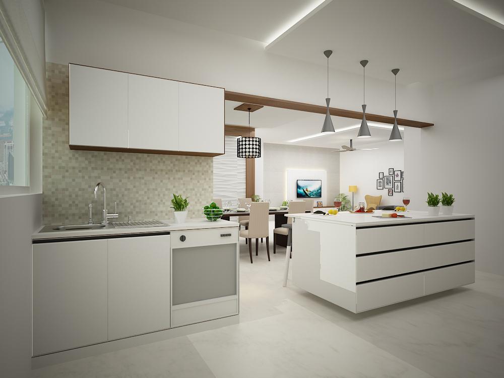 Kitchen interior living interior GUBAGHR