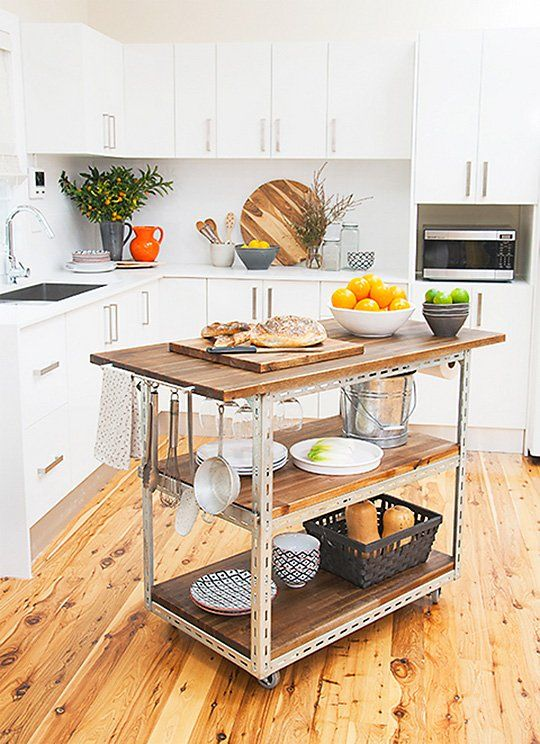 Kitchen Island Cart Ideas