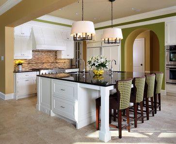 Kitchen Island Extension Ideas