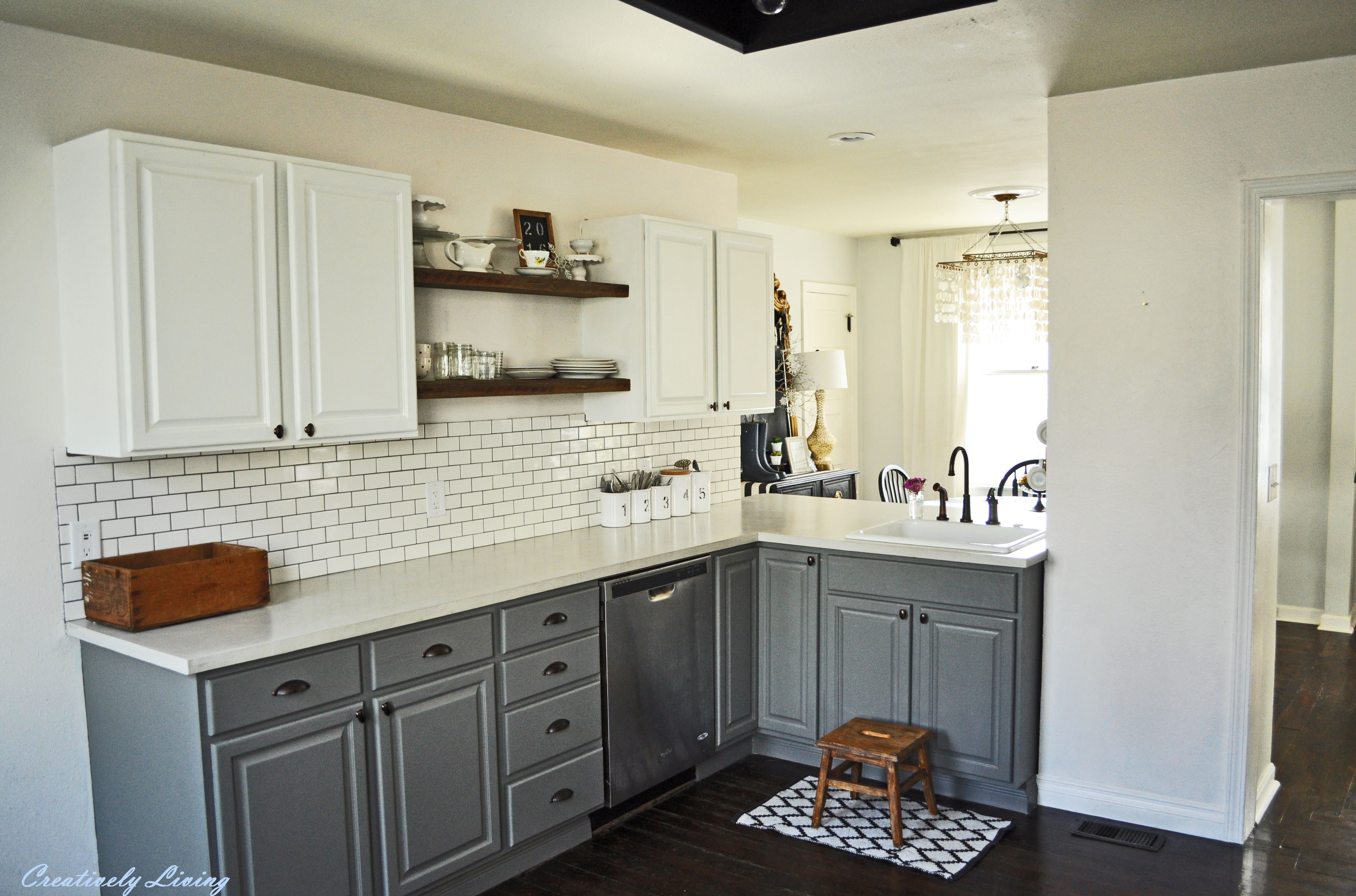 Kitchen makeover reveals JHYXZID