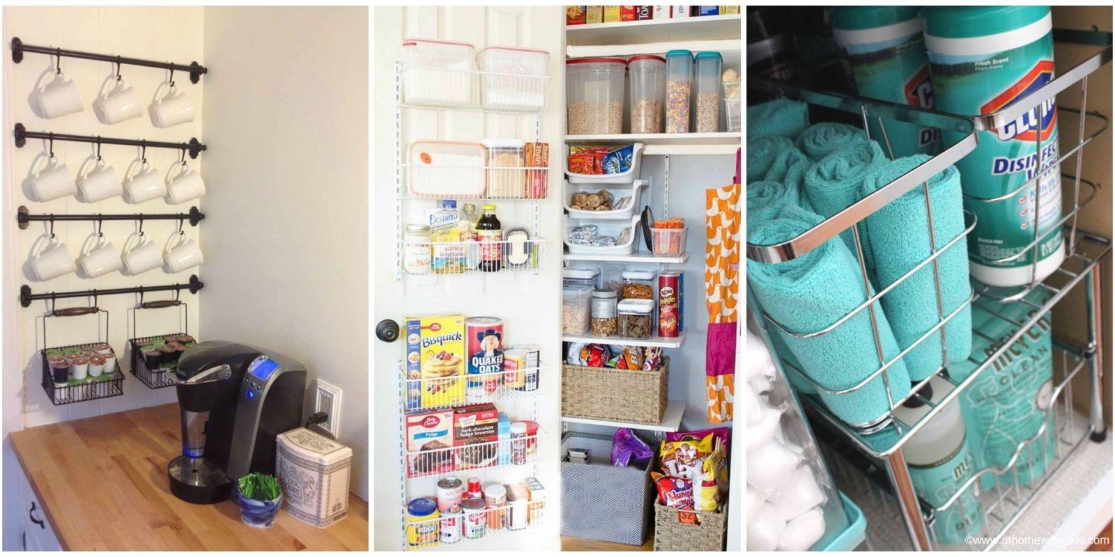 Kitchen organization ideas HTQENOI