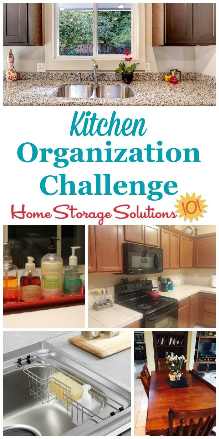 Kitchen organization: step by step instructions JWQLAIN